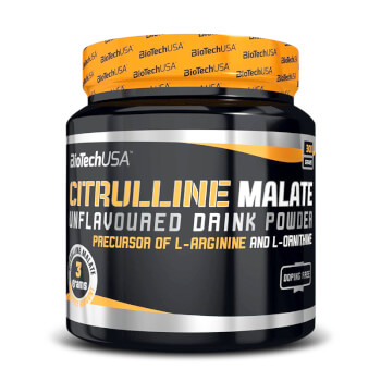Citrulina Malato de Biotech USA es un precursor de óxido nítrico.