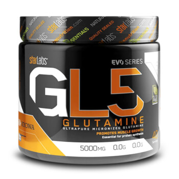 Con GL5 Glutamina potencia tu recuperación.