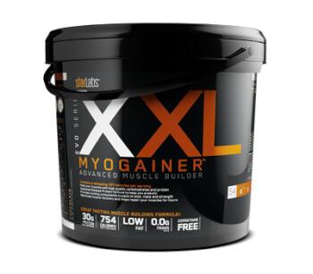 XXL Myogainer potencia el aumento de peso y masa muscular.