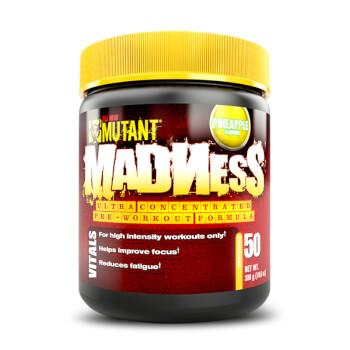 Mutant Madness es un pre-entrenamiento formulado para rendir al máximo.
