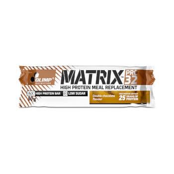 Las barritas Matrix Pro 32 de Olimp contienen 26,2g de proteínas.