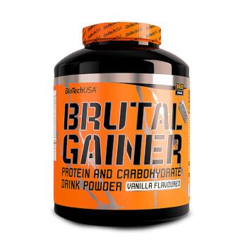 Brutal Gainer está pensado para una óptima ganancia de peso y mantenimiento muscular.