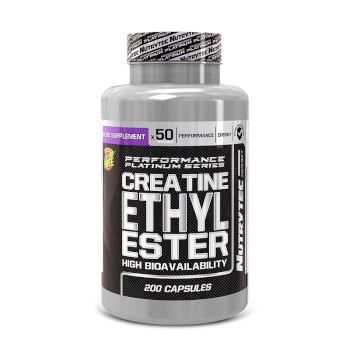 Creatina Etil Ester (Performance Platinum Series) posee una alta biodisponibilidad.