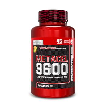Metacel 3600 (Termotec Series) interviene en el metabolismo de las grasas.