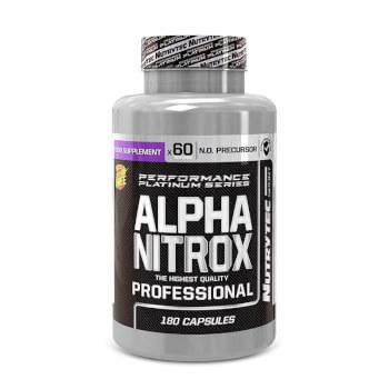 Alpha Nitrox Professional favorece la vasodilatación y el riego sanguíneo.