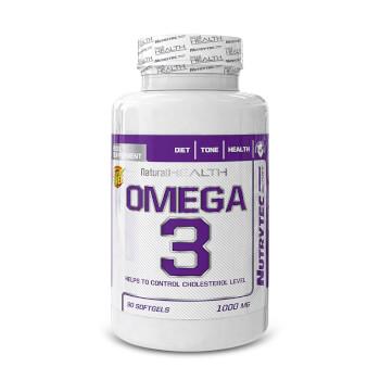 Omega 3 (Natural Health) se ha elaborado a base de aceite de pescado.