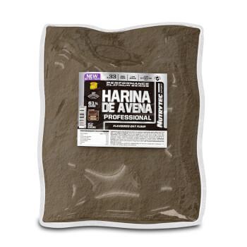 Harina de Avena Professional de Nutrytec te proporciona energía instantánea.