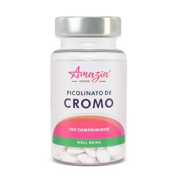 Picolinato de Cromo - Amazin' Foods - Favorece la pérdida de peso