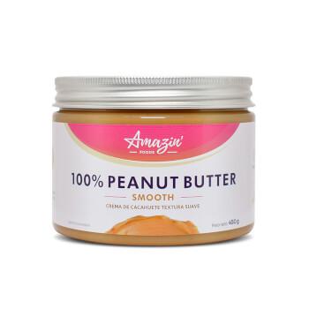 100% CREMA DE CACAHUETE SUAVE - Amazin' Foods