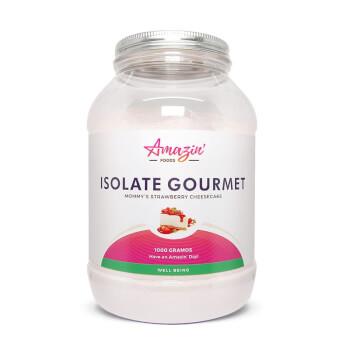 Isolate Gourmet - Amazin' Foods - Proteína Aislada de Suero