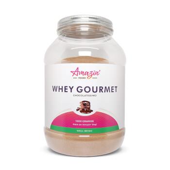 Whey Gourmet - Amazin' Foods - 75,5% de proteínas