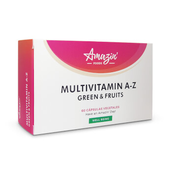 Multivitamin A-Z Green and Fruits -  Amazin' Foods - Multivitamínico