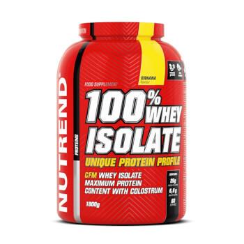 100% Whey Isolate aporta 26g de proteínas por dosis.