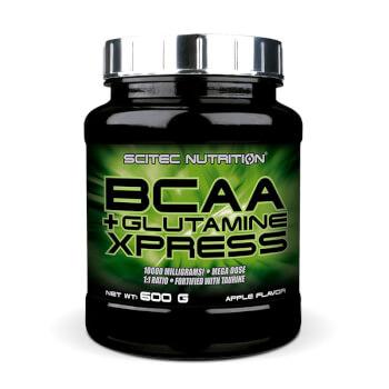 Bcaa + Glutamine contribuye al desarrollo y mantenimiento de la masa muscular.