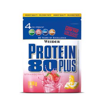 Protein 80 Plus aporta una mezcla de proteínas de alta calidad.