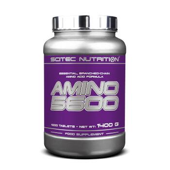 Amino 5600 favorece el aumento de masa muscular y su regeneración.
