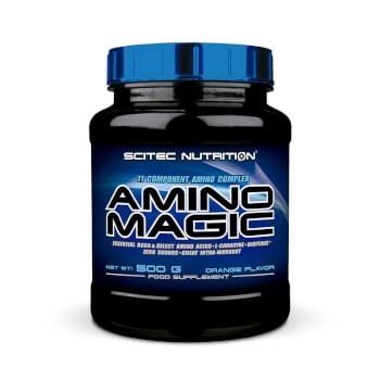 Amnino Magic favorece el desarrollo y mantenimiento muscular, así como el rendimiento deportivo.