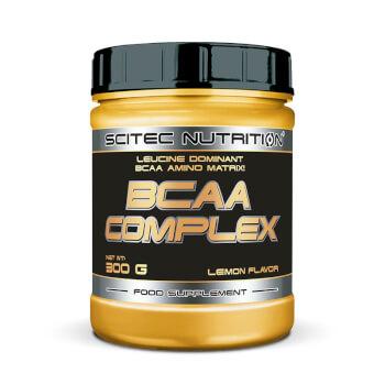 BCAA Complex contiene aminoácidos ramificados con glutamina y vitamina B6.