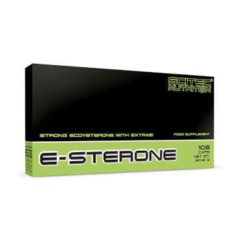 E-Sterone te proporciona ecdisterona con un extra de vitamina B6, ácido fólico y BioPerine
