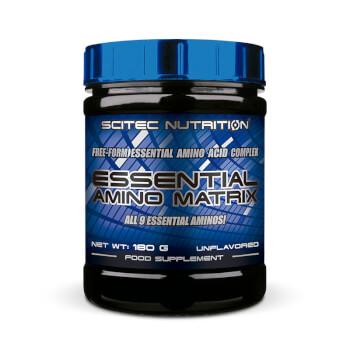 Essential Amino Matrix contribuye a acelerar la regeneración del músculo y ayuda a aumentar la m