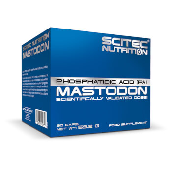 Mastodon contiene ácido fosfatídico.