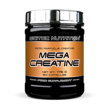 Mega Creatine es una fórmula a partir de creatina micronizada que potencia el desarrollo muscula