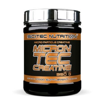 Microntec Creatine ayuda a maximizar la fuerza y el rendimiento.
