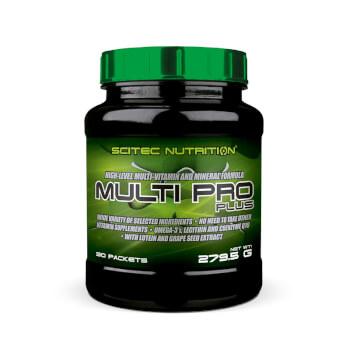 Multi Pro Plus es un multivitamínico y mineral para deportistas de alto nivel.