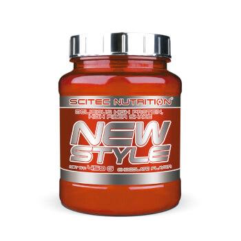 New Style es un batido de proteínas con fibra para ayudar a la pérdida de peso.