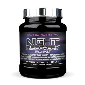 Night Recovery ayuda a evitar el catabolismo proteico nocturno y contribuir a la relajación y el