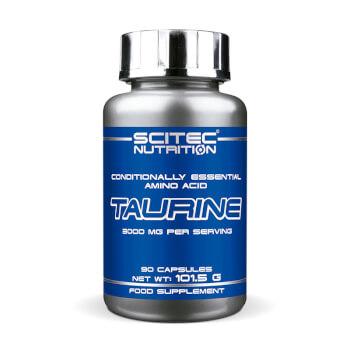 Taurina ayuda a aumentar la energía, la fuerza y el crecimiento muscular.