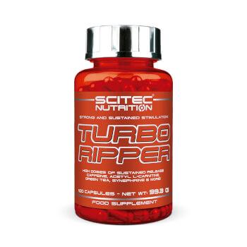 Turbo Ripper contribuye a acelerar el metabolismo, favoreciendo la quema de grasas.