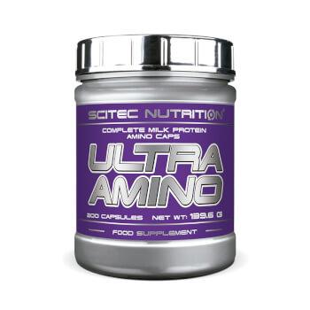 Ultra Amino contribuye a acelerar la regeneración del músculo y ayuda a aumentar la masa muscula
