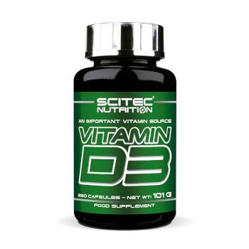 Vitamin D3 favorece el funcionamiento del sistema óseo, muscular e inmunitariio.