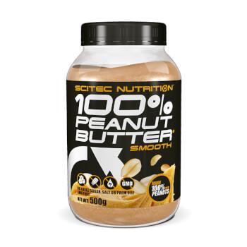 100% Peanut Butter es una deliciosa crema con grasas saludables para una dieta sana y equilibrad