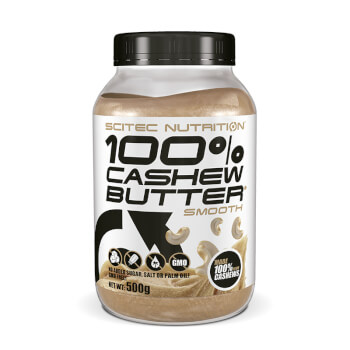 100% Cashew Butter es una deliciosa crema con grasas saludables para una dieta sana y equilibrad