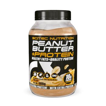 Peanut Butter + Protein es una deliciosa crema que favorece el aumento de masa muscular.