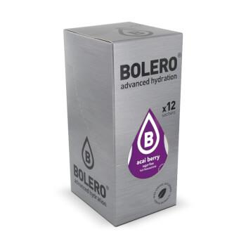 Bebida baja en calorías Bolero con sabor a bayas de acai