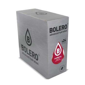 Bebida baja en calorías de Bolero a base de Arándano Rojo con Stevia.