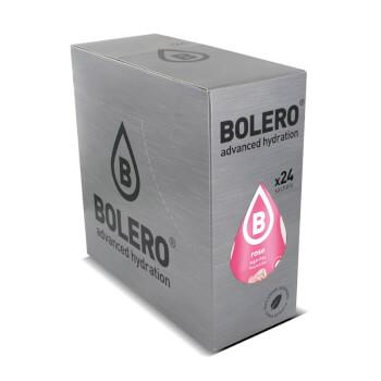 Bebida baja en calorías de rosa con stevia de Bolero