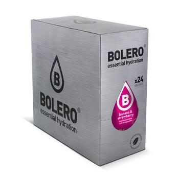 Combina plátano y fresa en esta bebida baja en calorías de Bolero