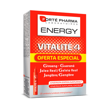 ENERGY VITALITE 4 - 20 x 10ml - FORTE PHARMA