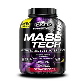 Mass Tech Performance Series ¡Aumenta tu masa muscular y tu peso rápidamente!