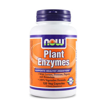 PLANT ENZYMES 120 VCaps - NOW FOODS
