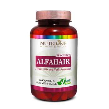 Alfahair aporta nutrientes para el cabello, la piel y las uñas.