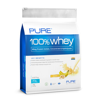 PURE 100% WHEY 2,27 Kg - PURE NUTRITION