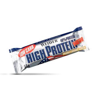 40% Low Carb High Protein Bar son unas barritas con un alto contenido en proteínas