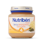 POTITOS INICIO MANZANA GOLDEN - Nutribén - Con vitamina C