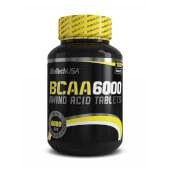 BCAA 6000 contiene aminoácidos ramificados indicado para la construcción y recuperación muscular