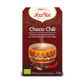 CHOCO CHILI es una infusión excitante de Yogi Tea